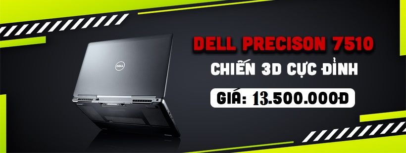 DELL Precision 7510 Nam Anh Laptop