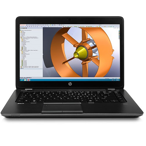 HP Zbook 17G2 Workstation 17,3inch